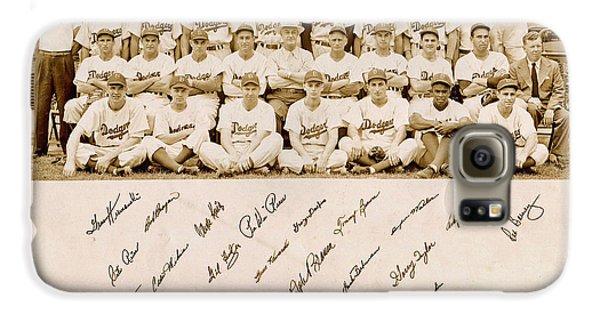 Brooklyn Dodgers Baseball Team Galaxy S6 Case