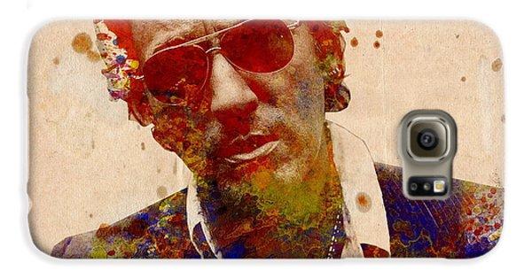 Bruce Springsteen Galaxy S6 Case by Bekim Art