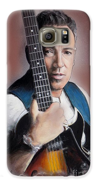 Bruce Springsteen Galaxy S6 Case by Melanie D
