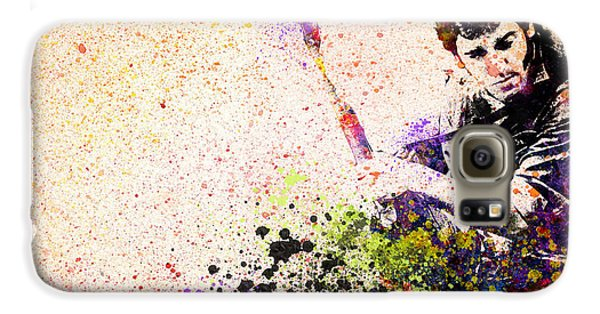 Bruce Springsteen Galaxy S6 Case - Bruce Springsteen Splats 2 by Bekim Art