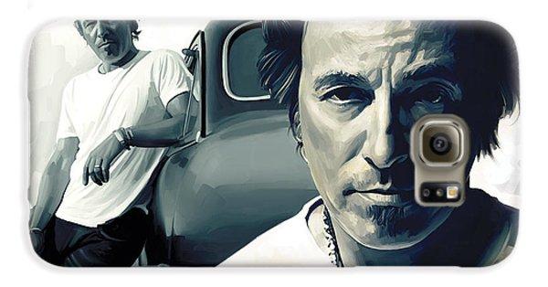 Bruce Springsteen Galaxy S6 Case - Bruce Springsteen The Boss Artwork 1 by Sheraz A