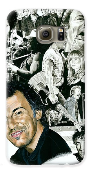 Bruce Springsteen Galaxy S6 Case - Bruce Springsteen Through The Years by Ken Branch