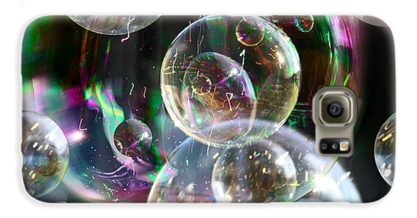 Galaxy S6 Case featuring the photograph Bubbles And More Bubbles by Nareeta Martin