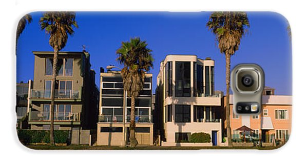Buildings In A City, Venice Beach, City Galaxy S6 Case by Panoramic Images