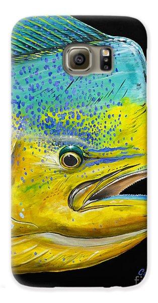 Bull Head Off0033 Galaxy S6 Case by Carey Chen