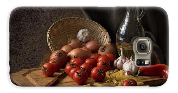 Tomato Galaxy S6 Case - Buon Appetito... by Margareth Perfoncio