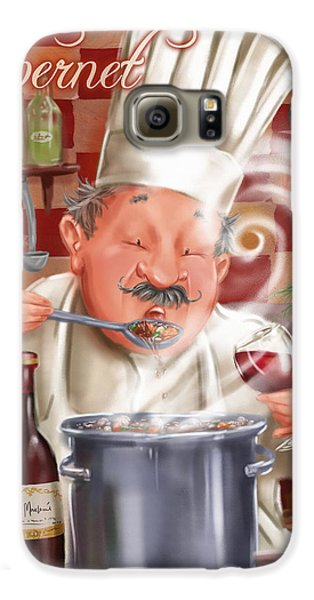 Busy Chef With Cabernet Galaxy S6 Case