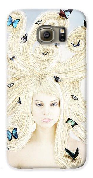 Butterfly Girl Galaxy S6 Case