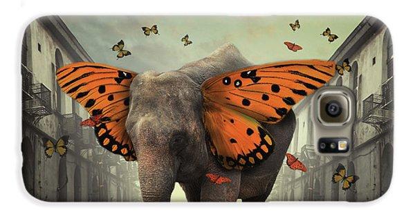 Colours Galaxy S6 Case - Butterphant by Hardibudi