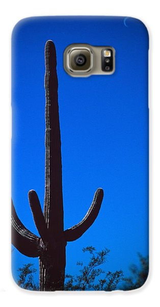Cactus And Moon Galaxy S6 Case