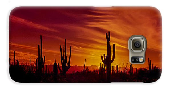Cactus Glow Galaxy S6 Case