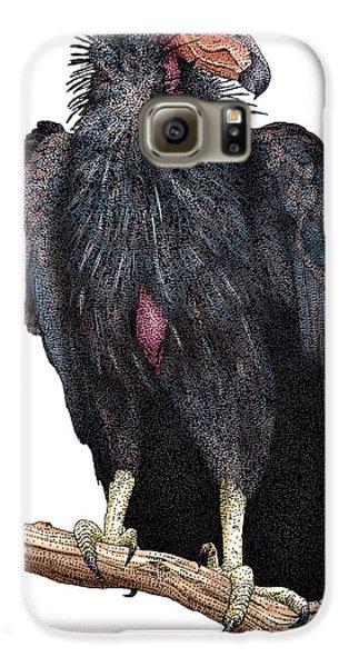 California Condor Galaxy S6 Case by Roger Hall