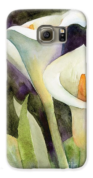 Lily Galaxy S6 Case - Calla Lilies by Amy Kirkpatrick