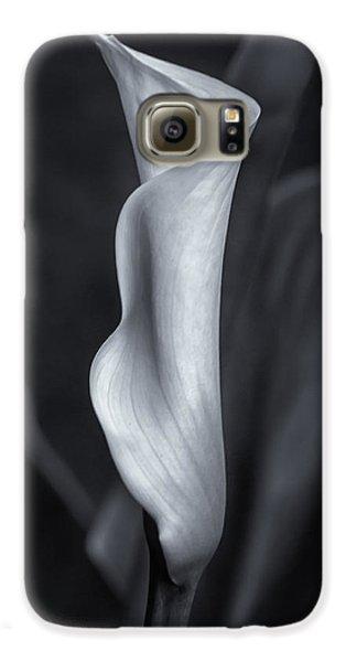 Calla Lily No. 2 - Bw Galaxy S6 Case