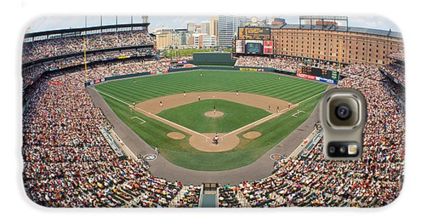 Oriole Galaxy S6 Case - Camden Yards Baltimore Md by Panoramic Images