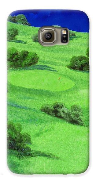 Campo Da Golf Di Notte Galaxy S6 Case