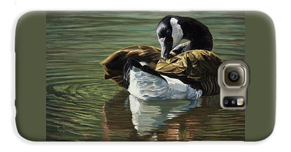 Canadian Goose Galaxy S6 Case by Lucie Bilodeau