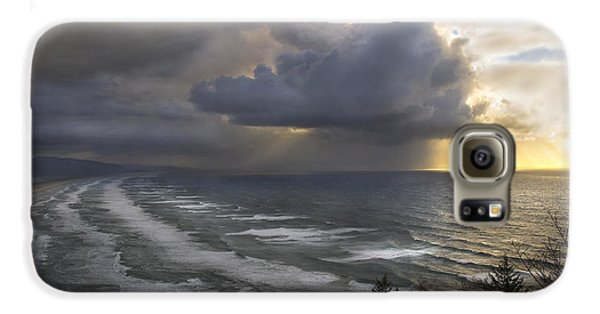 Sunset At Cape Lookout Oregon Coast Galaxy S6 Case