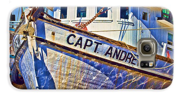 Capt Andrew Shrimper Galaxy S6 Case by Bill Barber