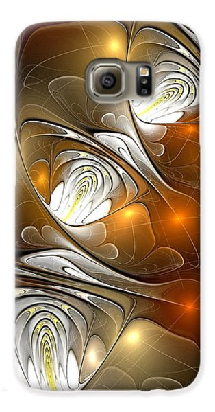 Galaxy S6 Case featuring the digital art Carefree by Anastasiya Malakhova