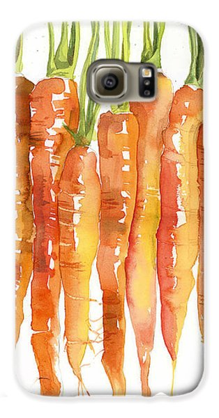 Carrot Bunch Art Blenda Studio Galaxy S6 Case