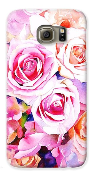 Rose Galaxy S6 Case - Cascade by Sarah Bent