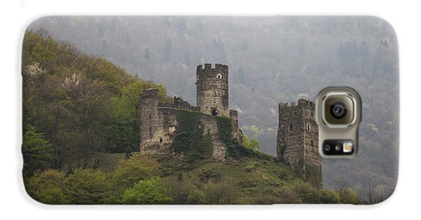 Castle In The Mountains. Galaxy S6 Case