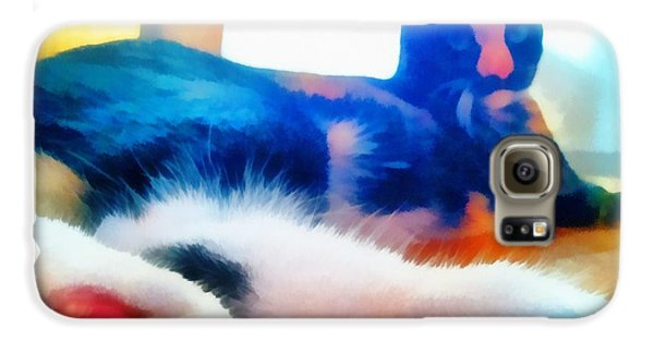 Cat Feet Galaxy S6 Case by Derek Gedney