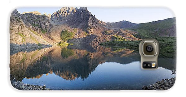Cathedral Lake Reflection Galaxy S6 Case