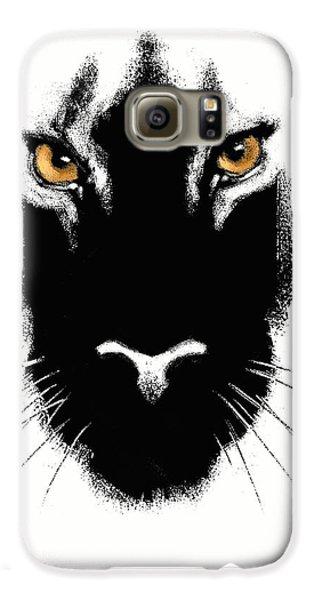 Leopard Galaxy S6 Case - Cat's Eyes by Aaron Blaise
