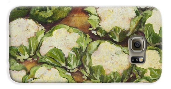 Cauliflower March Galaxy S6 Case by Jen Norton