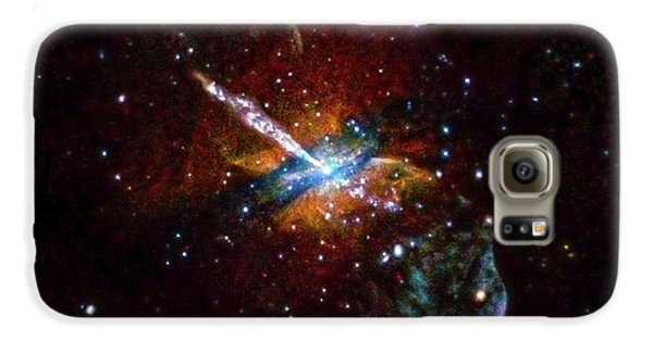 Centaurus A Galaxy S6 Case by Nasa/cxc/u.birmingham/m.burke Et Al