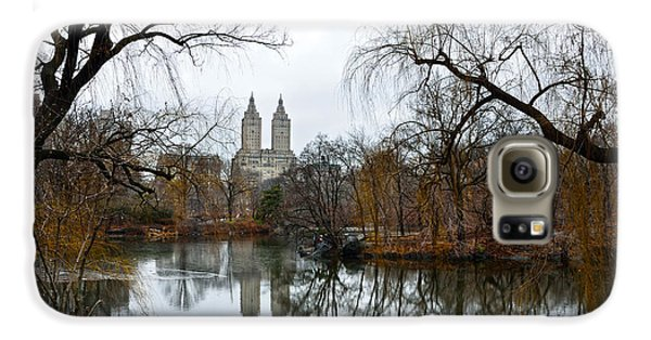 Central Park And San Remo Building In The Background Galaxy S6 Case by RicardMN Photography