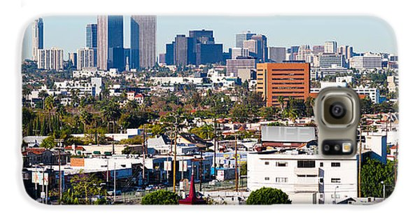 Century City, Beverly Hills, Wilshire Galaxy S6 Case by Panoramic Images