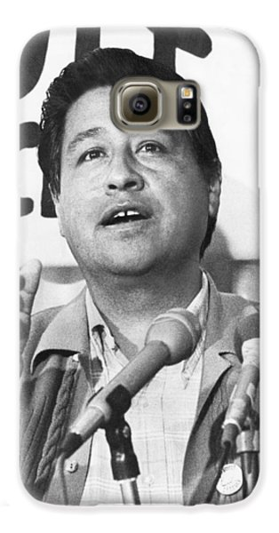 Cesar Chavez Announces Boycott Galaxy S6 Case by Underwood Archives