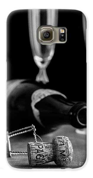Champagne Bottle Still Life Galaxy S6 Case