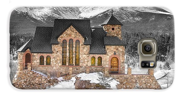 Chapel On The Rock Bwsc Galaxy S6 Case by James BO  Insogna