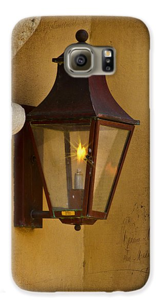 Charleston Carriage Light Galaxy S6 Case by Bill Barber