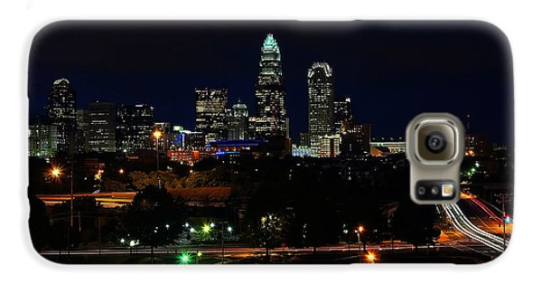 Charlotte Nc At Night Galaxy S6 Case