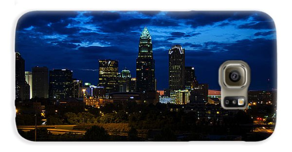 Charlotte North Carolina Panoramic Image Galaxy S6 Case