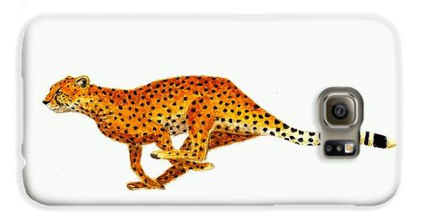 Cheetah Galaxy S6 Case by Michael Vigliotti