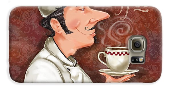 Chef Smell The Coffee Galaxy S6 Case