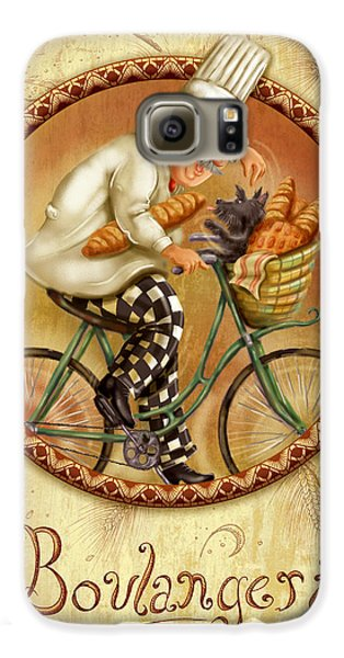 Chefs On Bikes-boulangerie Galaxy S6 Case