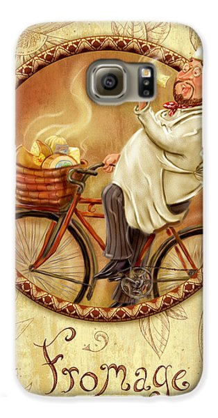Chefs On Bikes-fromage Galaxy S6 Case