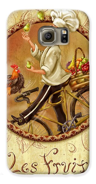 Chefs On Bikes-les Fruits Galaxy S6 Case