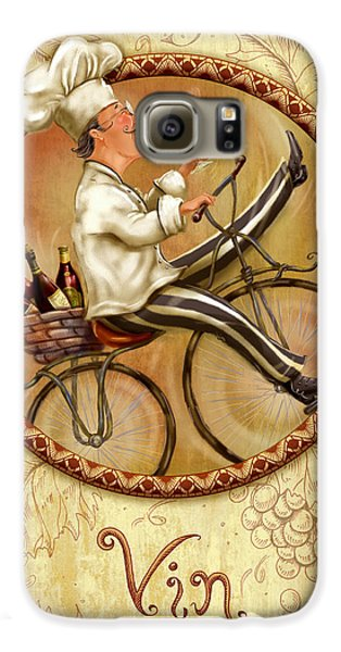 Chefs On Bikes-vin Galaxy S6 Case