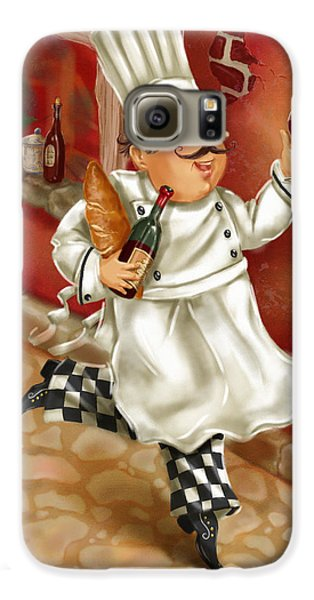 Chefs With Wine I Galaxy S6 Case