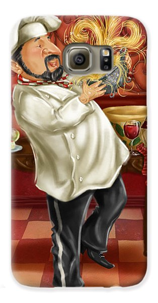 Chefs With Wine IIi Galaxy S6 Case