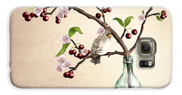 Finch Galaxy S6 Case - Cherry Coke by April Moen