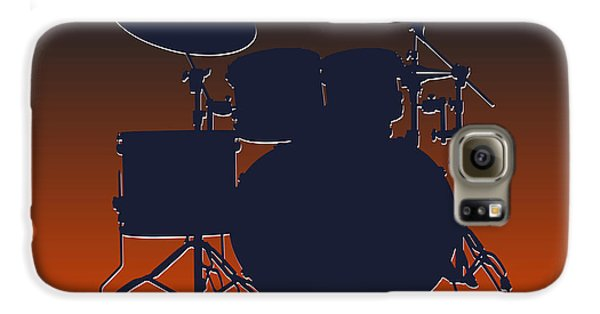 Chicago Bears Drum Set Galaxy S6 Case by Joe Hamilton